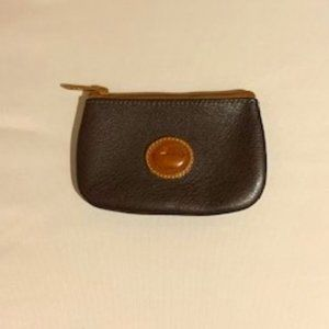 Dooney & Bourke leather change pouch